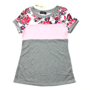 Fancyqube Floral Blouse Casual T-Shirt